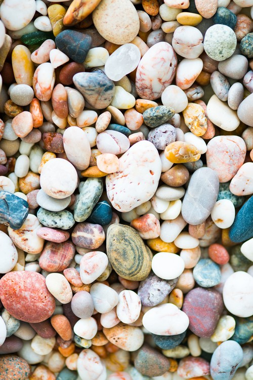 Valokuvatapetti Random rocks