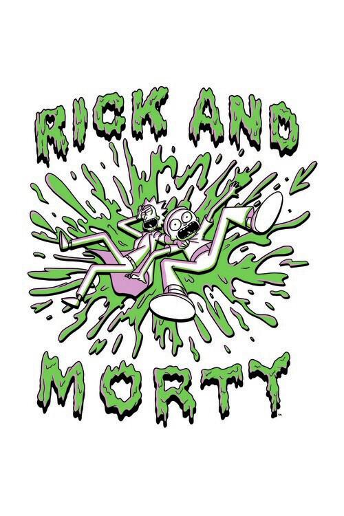 Valokuvatapetti Rick and Morty - The Duo
