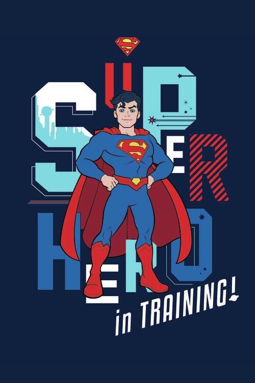 Valokuvatapetti Superman - In training