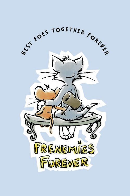 Valokuvatapetti Tom ja Jerry - Viholliset ikuisesti