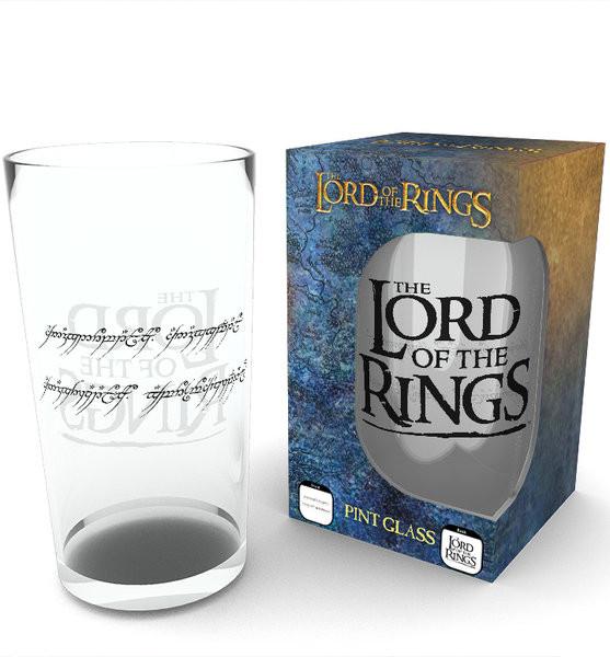 Le Seigneur des anneaux - Ring Verre