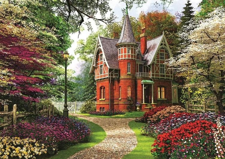 Puzzle Victorian Villa