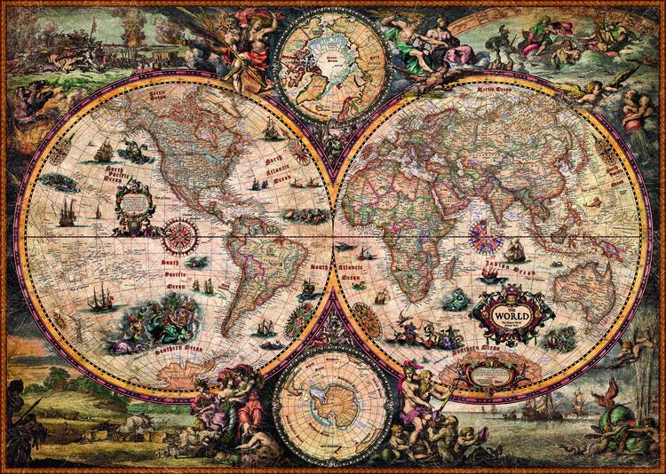 Puzzle Vintage World