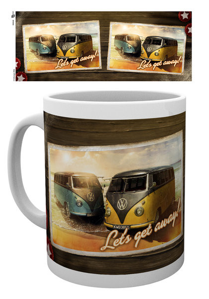 Cup VW Camper - Lets Get Away