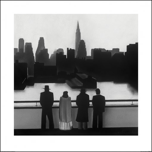 David Cowden - Skyline Art Print