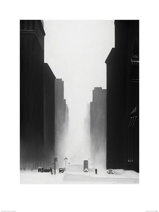 David Cowden - The Big City Art Print