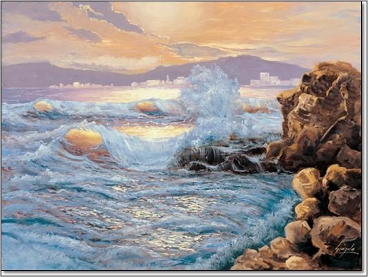 Gianola - Estate Al Mare Art Print