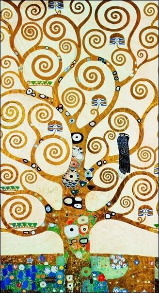 Gustav Klimt - Albero Della Vita Art Print