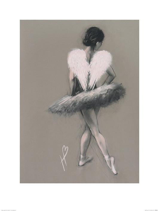 Hazel Bowman - Angel Wings III Art Print