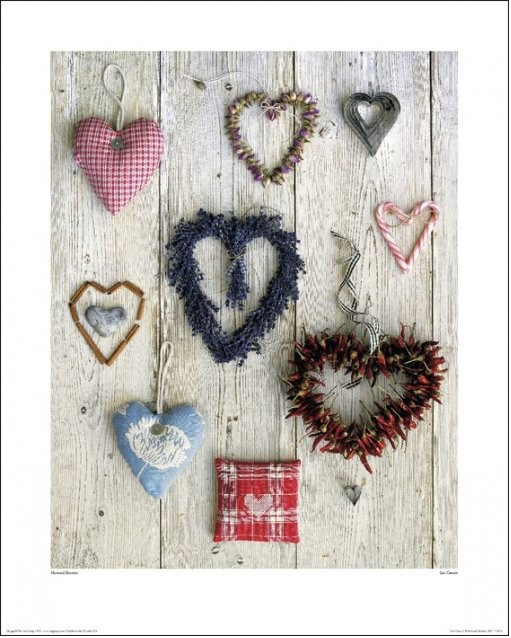 Howard Shooter  - Les Coeurs Art Print