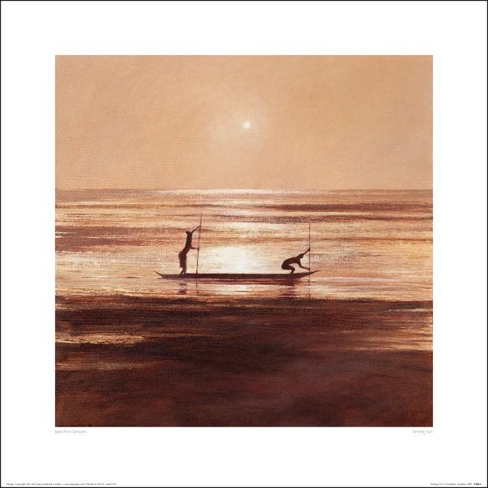 Jonathan Sanders - Sinking Sun Art Print