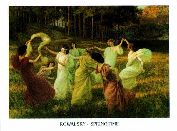 Kowalsky - Springtime Art Print