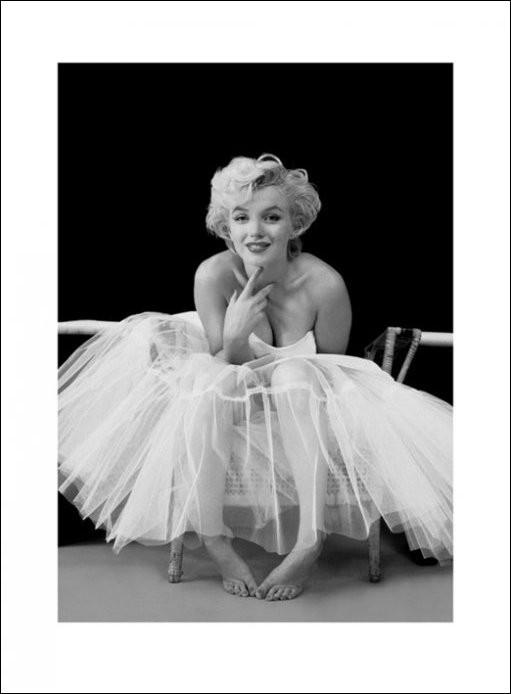 Marilyn Monroe - ballerina Art Print