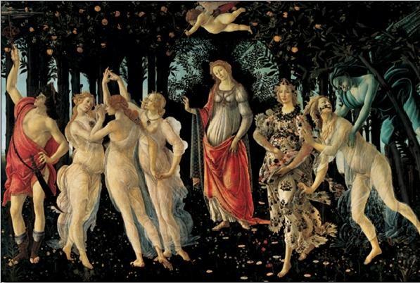 Primavera - The Allegory of Spring Art Print