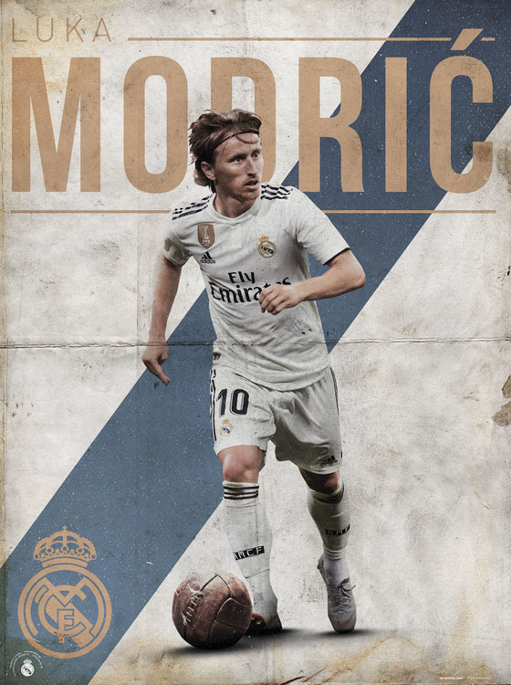 Real Madrid - Modric Art Print