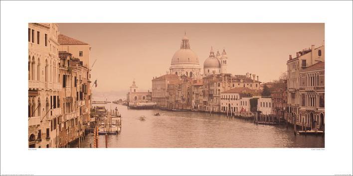 Rod Edwards - Canal Grande, Venice Art Print