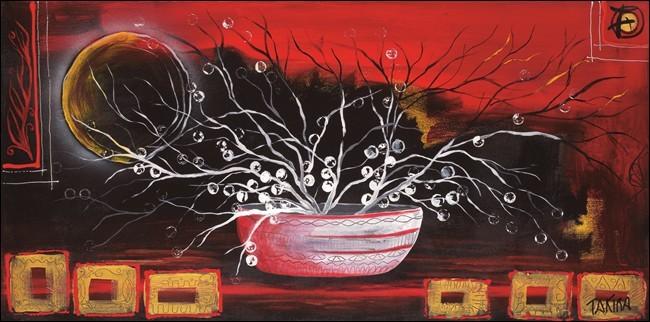 Rosso oriente Art Print