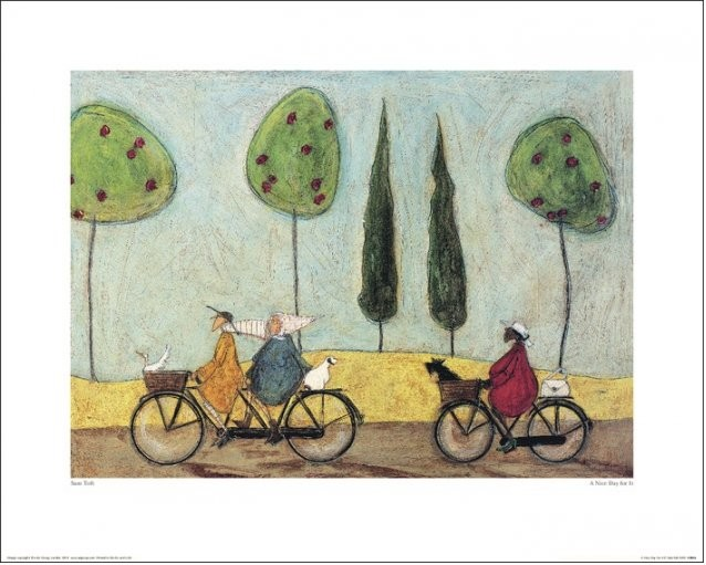 Sam Toft - A Nice Day For It Art Print