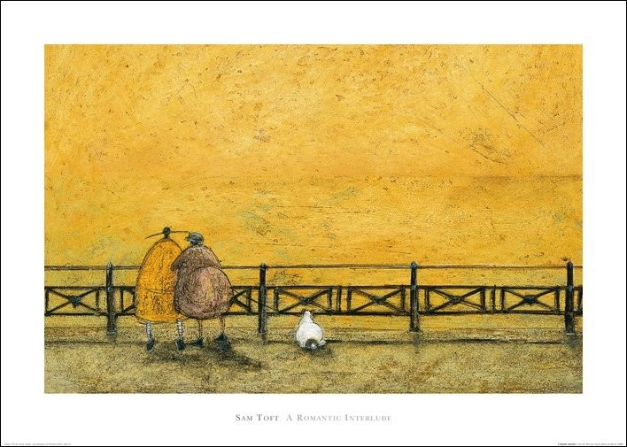 Sam Toft - A Romantic Interlude Art Print