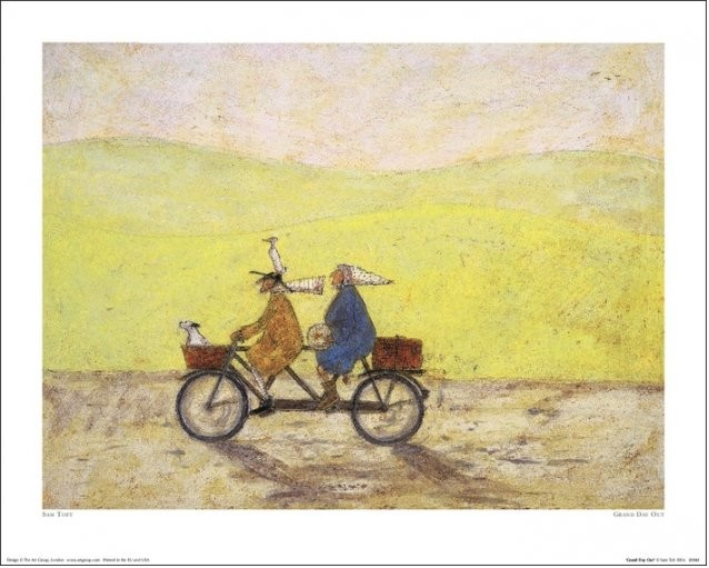 Sam Toft - Grand Day Out Art Print
