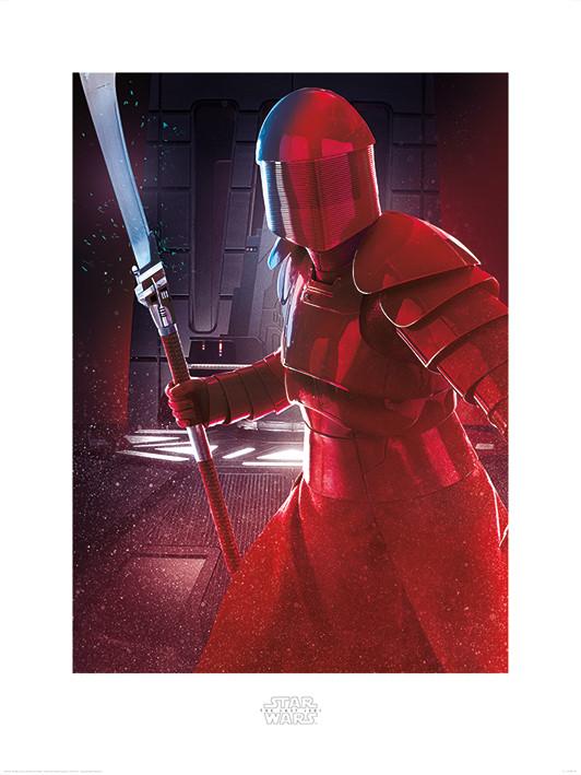 Star Wars The Last Jedi - Elite Guard Blade Art Print
