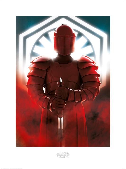 Star Wars The Last Jedi - Elite Guard Defend Art Print