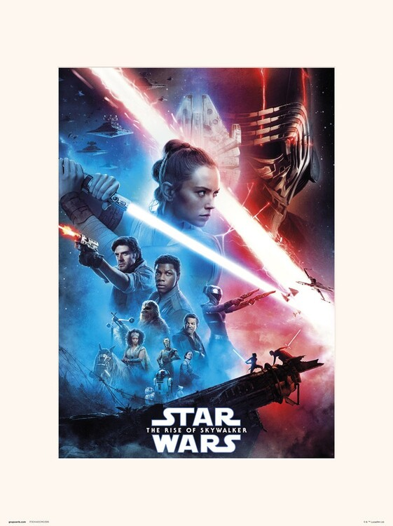 Star Wars: The Rise Of Skywalker - One Sheet Art Print