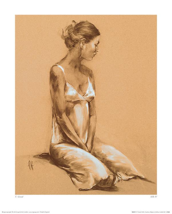 T. Good - Silk IV Art Print