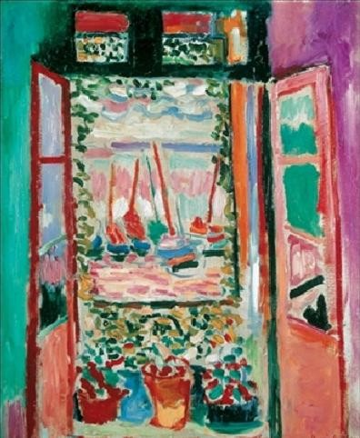 The Open Window, Collioure, 1905 Art Print