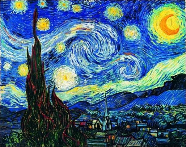 The Starry Night, June 1889 Art Print