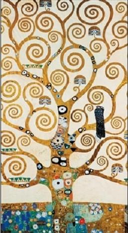 The Tree Of Life - Stoclit Frieze, 1909 Art Print