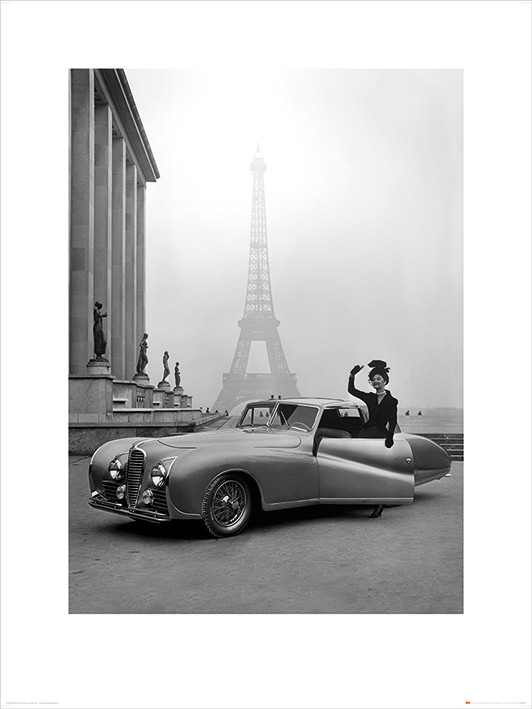 Time Life - France 1947 Art Print