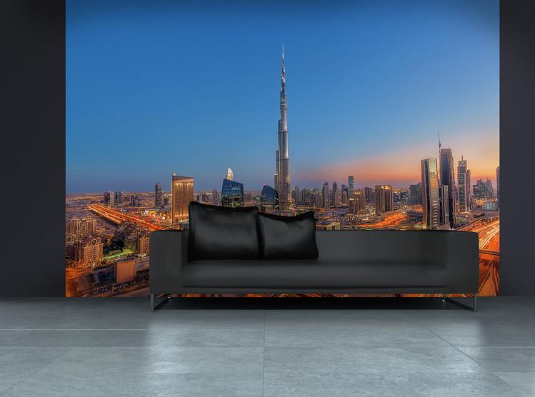 Burj Khalifa Poster Mural