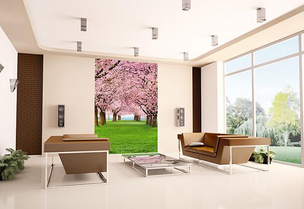 CHERRY TREES Poster Mural