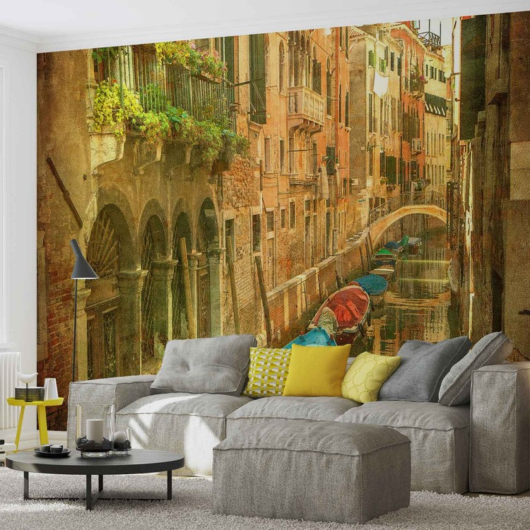 City Venice Canal Poster Mural