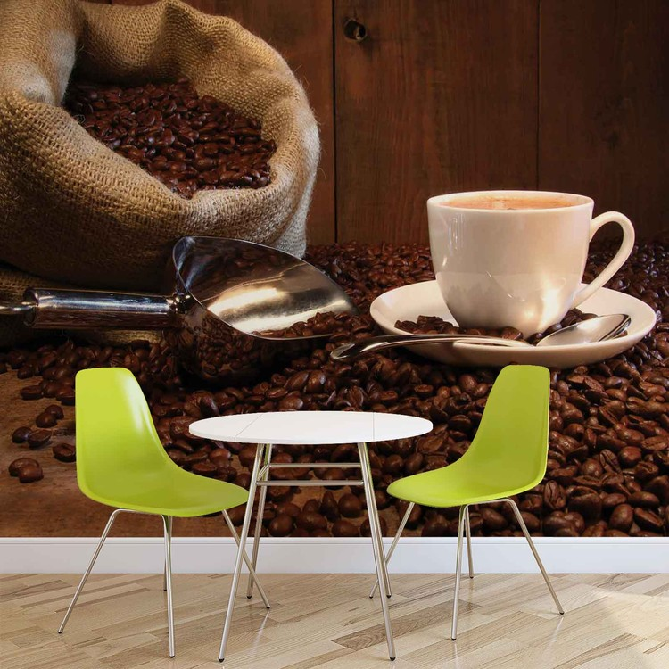 Coffee Cafe Poster Mural