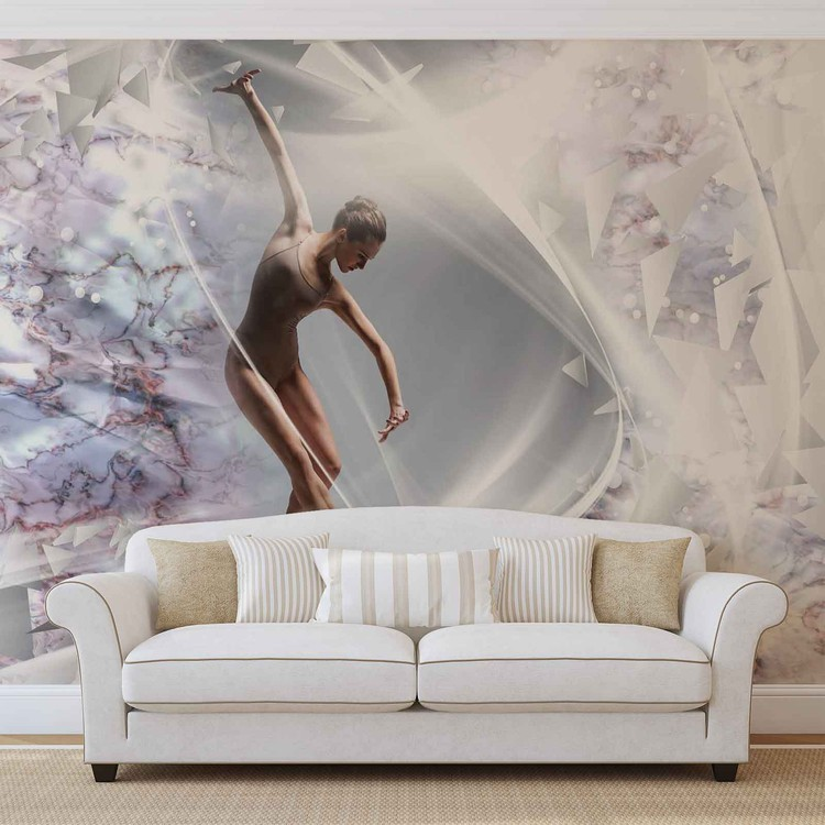Dancer Abstract Poster Mural