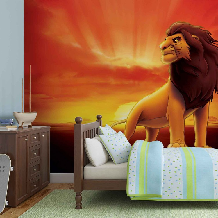 Disney Lion King Sunrise Poster Mural