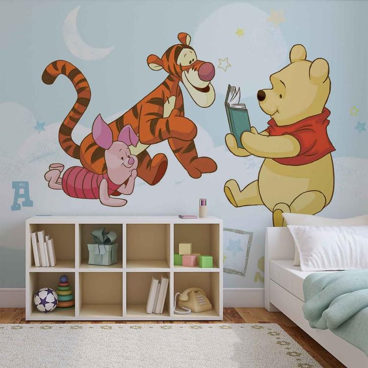 Disney Winnie Pooh Piglet Tigger Poster Mural