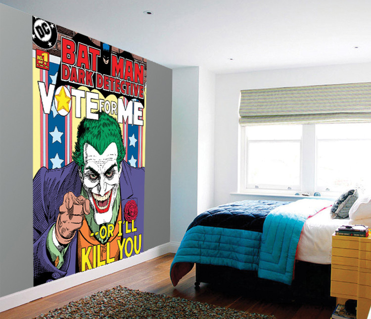 Joker - Vote Me or I'll Kill You Poster Mural
