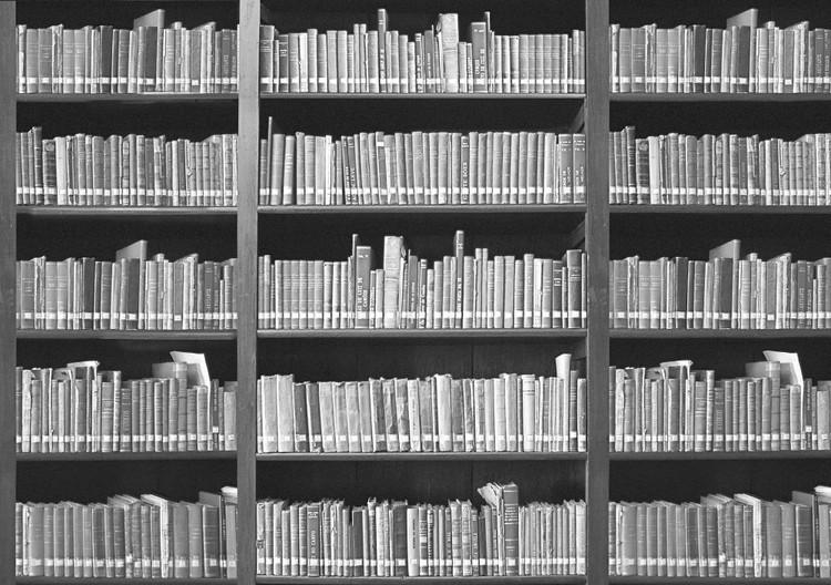 L'étagère à livres Poster Mural