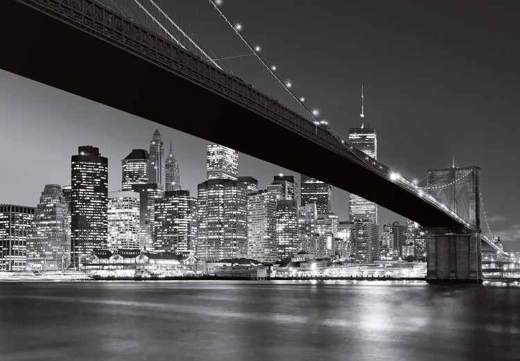MANHATTAN SKYLINE Poster Mural
