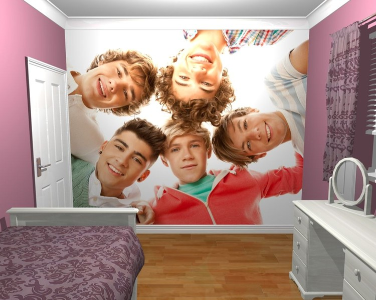 One Direction - Circle Poster Mural