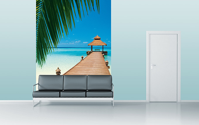 PARADISE BEACH Poster Mural