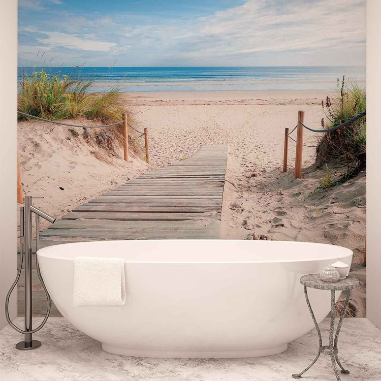 Path Beach Sand Nature Poster Mural