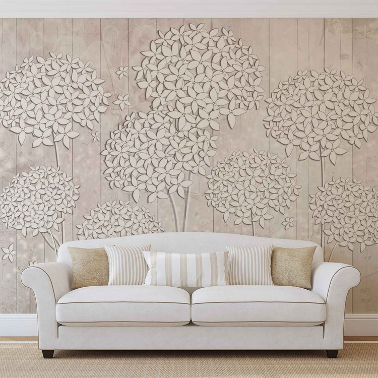 Pattern Flowers Poster Mural