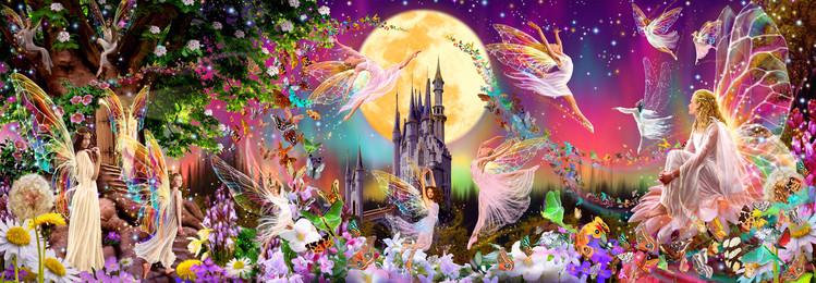 Royaume des fées Poster Mural