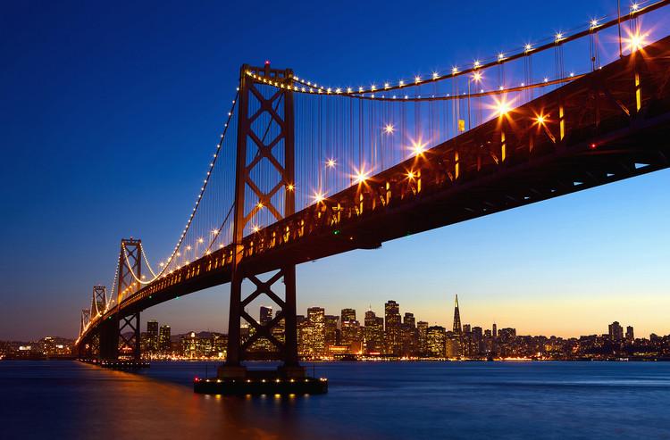 SAN FRANCISCO - skyline Poster Mural