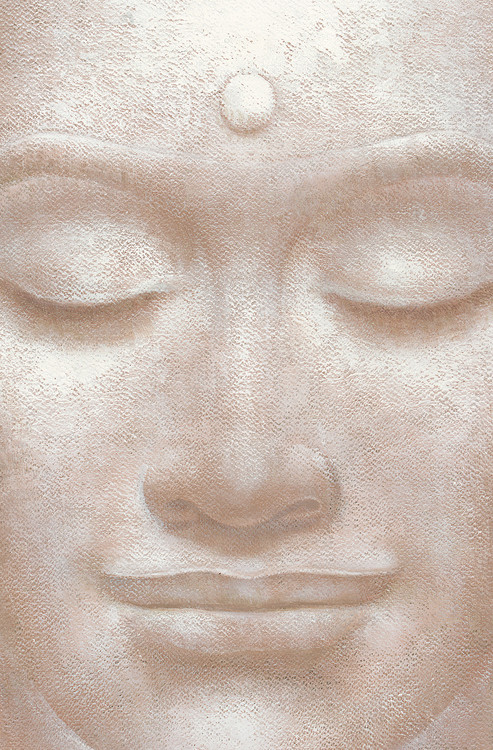 SMILING BUDDHA - wei ying wu Poster Mural