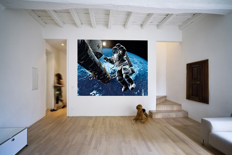 Space cowboy Poster Mural